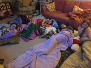 Slumber parties are such great fun!!