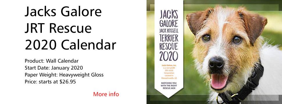 Jacks Galore 2020 Calendar